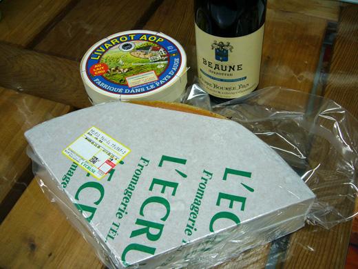 ワインパーティー用チーズ入荷