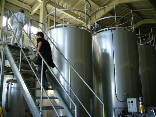 ワイン造りの工程9