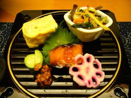 割烹・鈴芳さんの料理1