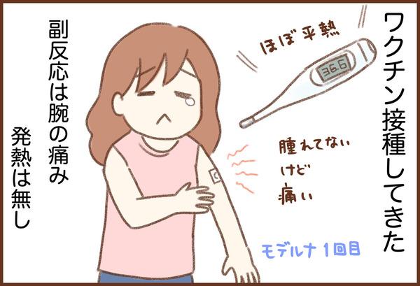 ワクチン接種 副反応 ゆむい
