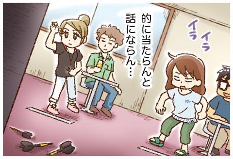 ダーツ→そして…