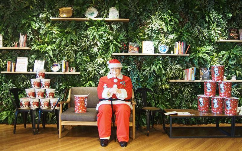 ケンタッキークリスマスパーティー ゆむい