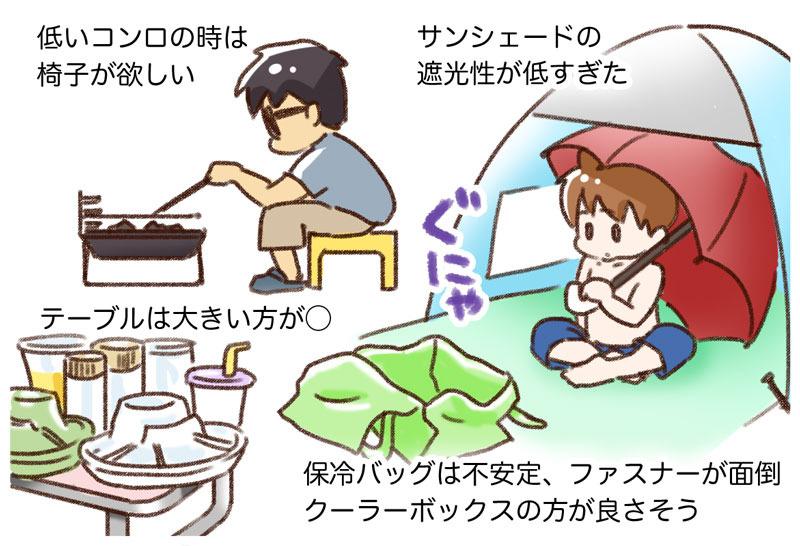 【考察編】子連れDAYキャンプ反省会