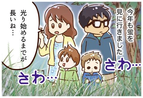 蛍を見に行ったよ(1)