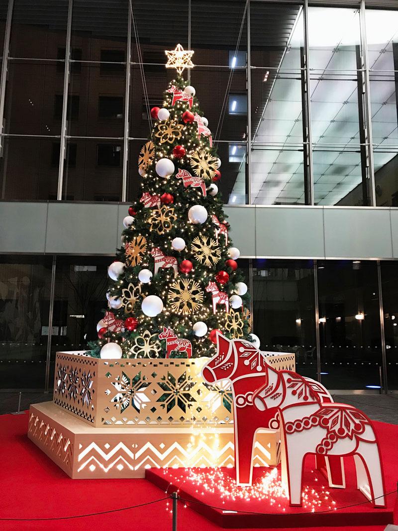 丸の内クリスマス ゆむい