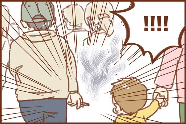 子連れ外出は匂いにも注意が必要!?