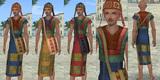 インカチュニック♂・インカの民族帽子