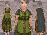 インカ高官の衣服
