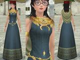 インカ豪族のドレス♀