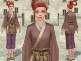 胡服(薄紫)