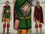 インカ豪族の服♂