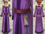 長袍(紫)