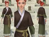 褥裙(こげ茶)