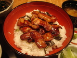 やさい料理★GOKAKU 宮崎産黒豚の小焼き丼