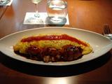 洋食ミヤシタ 薄焼き卵のオムライス