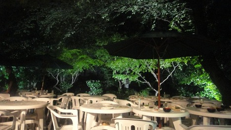 麻布十番 東京さぬき倶楽部 ビア庭園