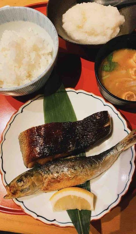 お魚と白ご飯が食べたくなったら
