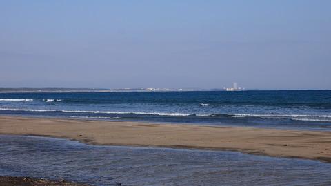 青島海岸からシーガイア方面