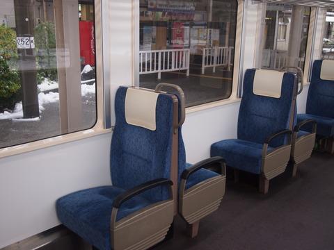 のと鉄道NT200形座席
