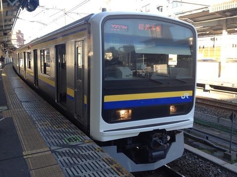 15総武線普通列車