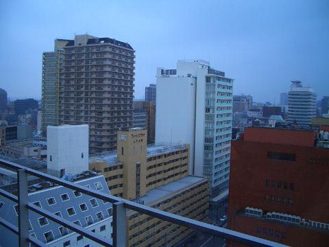 横浜のホテルからの景色3