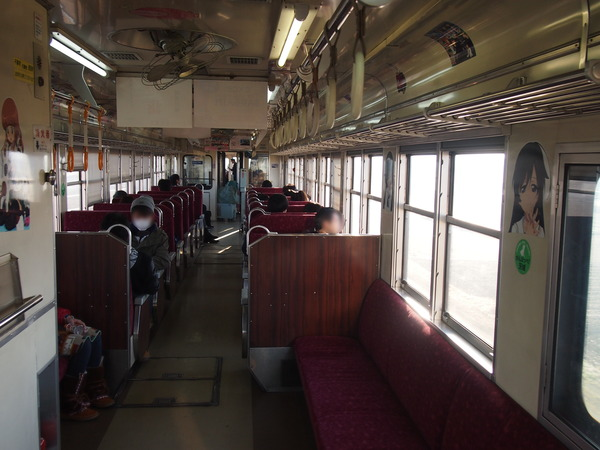 ガルパン列車で大洗へ (10)