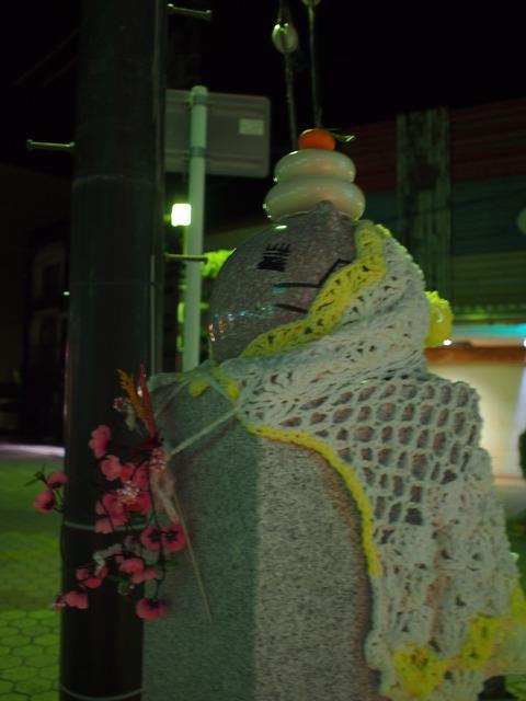 夜の竹原・ももねこ様像お正月仕様(2)
