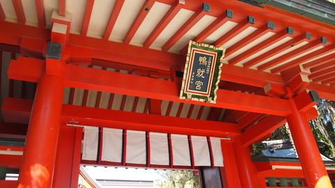 青島神社楼門