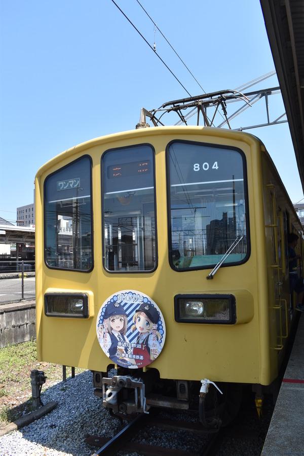 近江鉄道伊豆箱根鉄道コラボHM (16)
