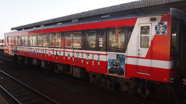 ガルパン列車で大洗へ (18)