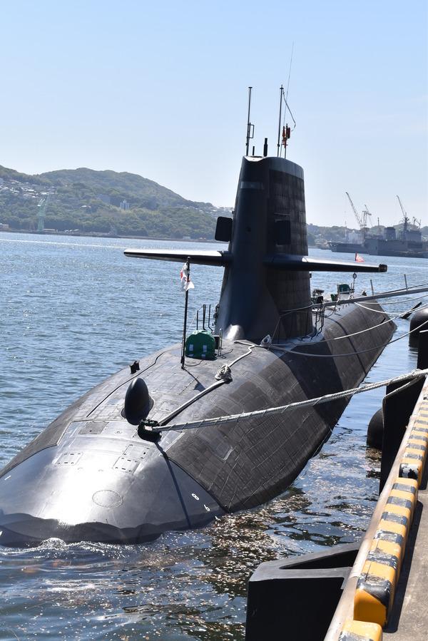 そうりゅう型潜水艦@倉島岸壁 (7)