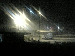 大分空港(夜)
