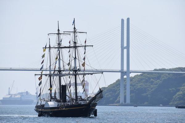 長崎帆船まつりと護衛艦 (29)