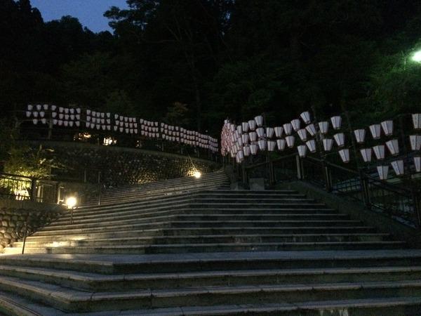 ぼんぼり灯る湯涌温泉 (6)