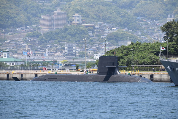 そうりゅう型潜水艦@倉島岸壁 (1)