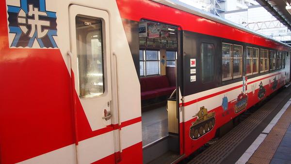 ガルパン列車で大洗へ (3)