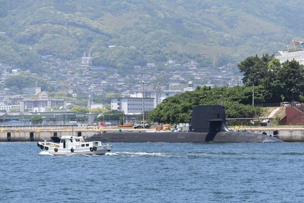 そうりゅう型潜水艦@倉島岸壁 (3)