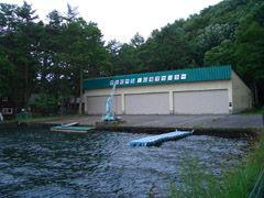 木崎湖B&G艇庫