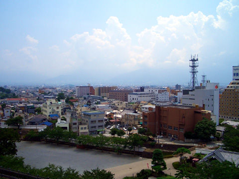 甲府城本丸からの景色2