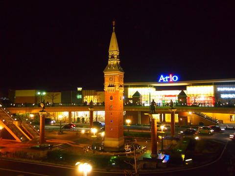 倉敷駅北口の時計塔