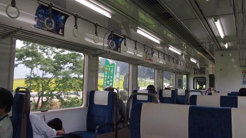 35通常カラー列車車内
