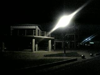 羽田海岸駐車場(夜)