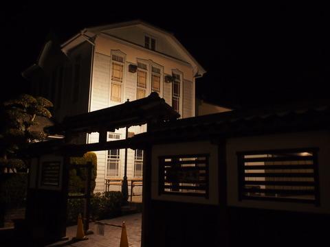 夜の竹原・憧憬の広場前2