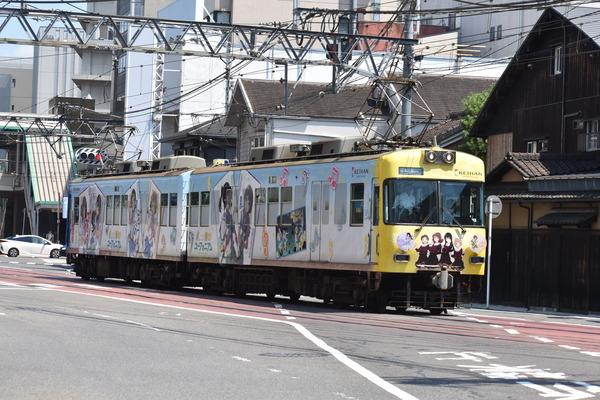 京阪大津線・響けユーフォニアム (12)