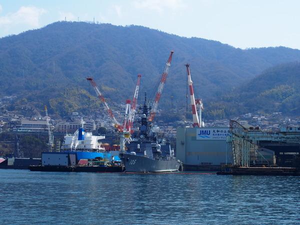 軍港クルーズ(2014春の青春18きっぷ呉) (3)