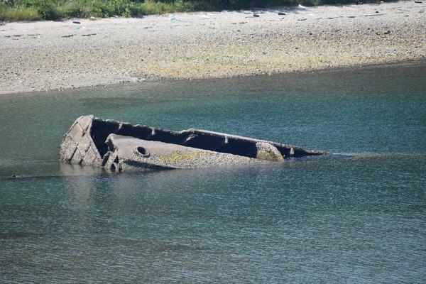 笠戸島のコンクリート船 (23)