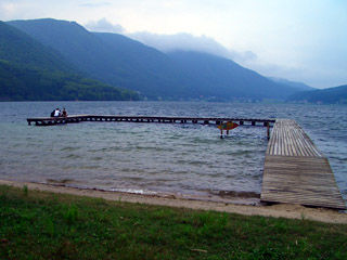木崎湖桟橋5