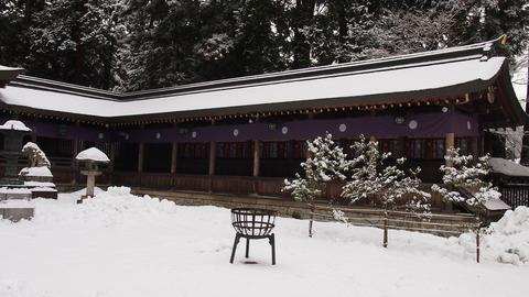 13飛騨一宮水無神社ご拝殿(2)