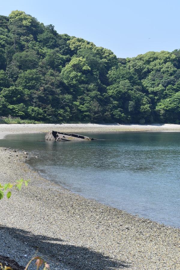 笠戸島のコンクリート船 (24)