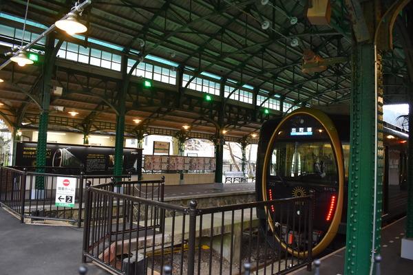 観光列車「ひえい」と叡電であいもんコラボ (8)
